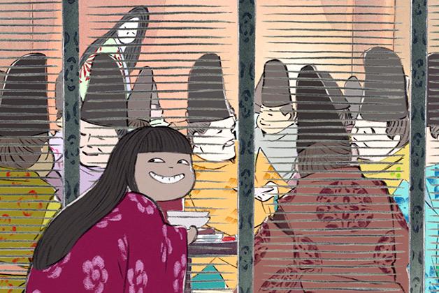 Kaguya-hime no Monogatari (Le conte de la princesse Kaguya) Princesskaguya